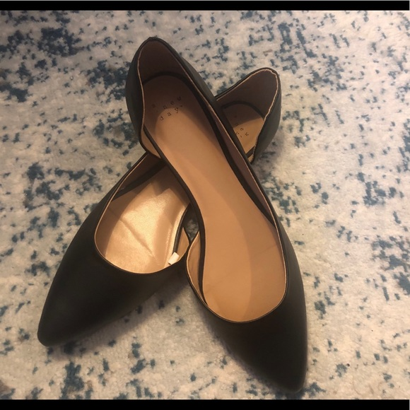 Shoes   A New Day Black Flats   Poshmark